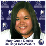 Mary Grace Denise SALVADOR